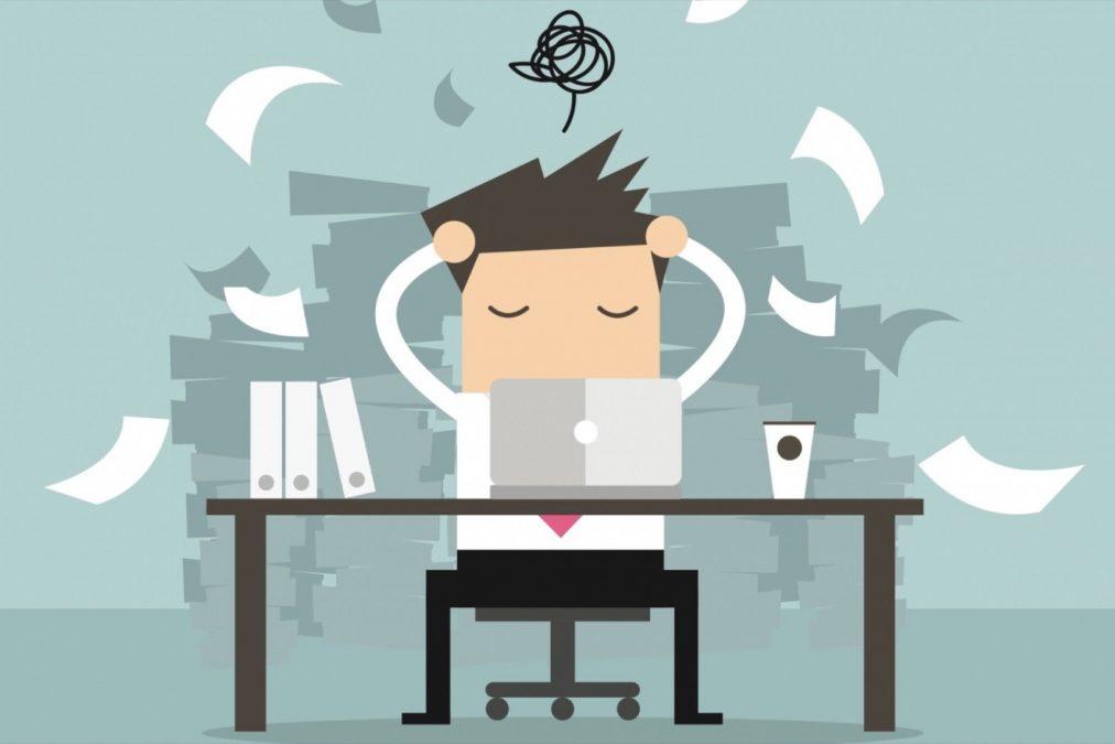 stres di tempat kerja
